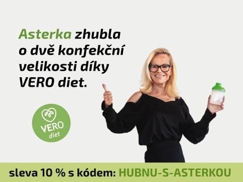 Jitka Asterová zhubla 2 konfekční velikosti díky VERO diet