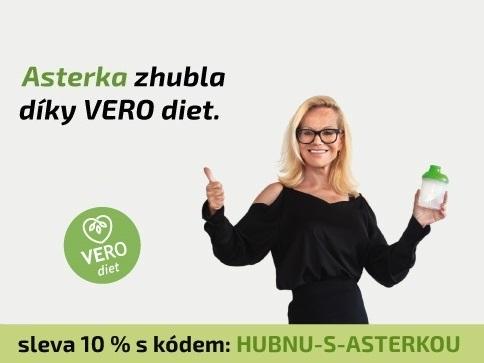 Jitka Asterová zhubla díky VERO diet