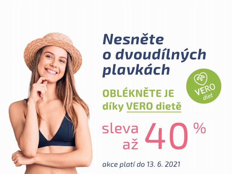 Jarní sleva 40% na VERO diet