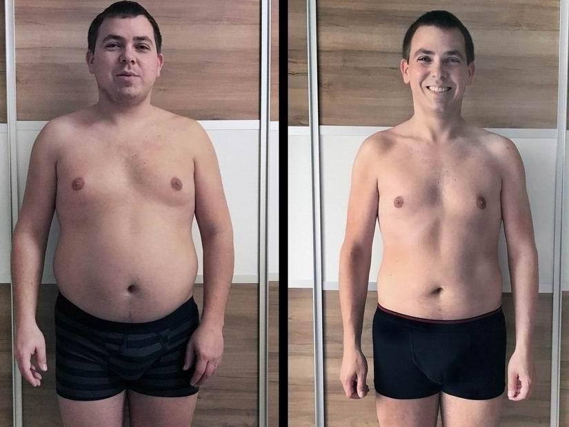 Aleš z VERO zhubl a má váhu jako ve 20-ti letech, 35 let