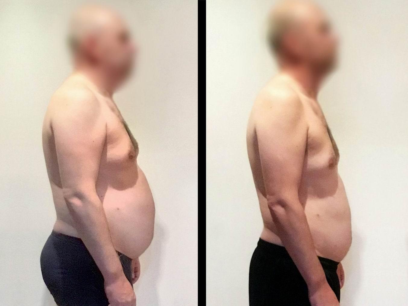Fotbalista Pavel ve svých 42 letech zhubl tuk s VERO dietou.
